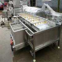 香菇脆加工设备 香菇清洗机 香菇低温油炸机