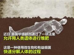 """为什么""""人体种蘑菇,用人体做堆肥""""这么可怕的项目会被批准? ()"""